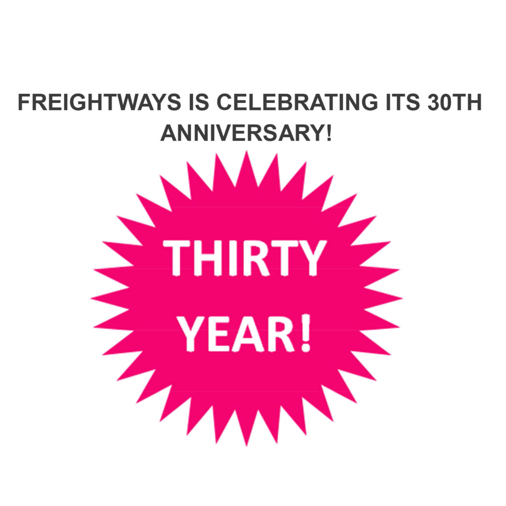 In the Media Freightways 30th anniversary
